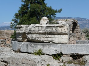 The remains of the Babbius Monument