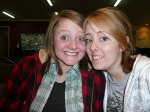 Amber (an Aussie ministry intern with the STAMP program) and Hannah (a Kiwi married to an Australian youth minister)