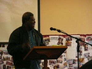 Jab reporting on his ministry in New Guinea